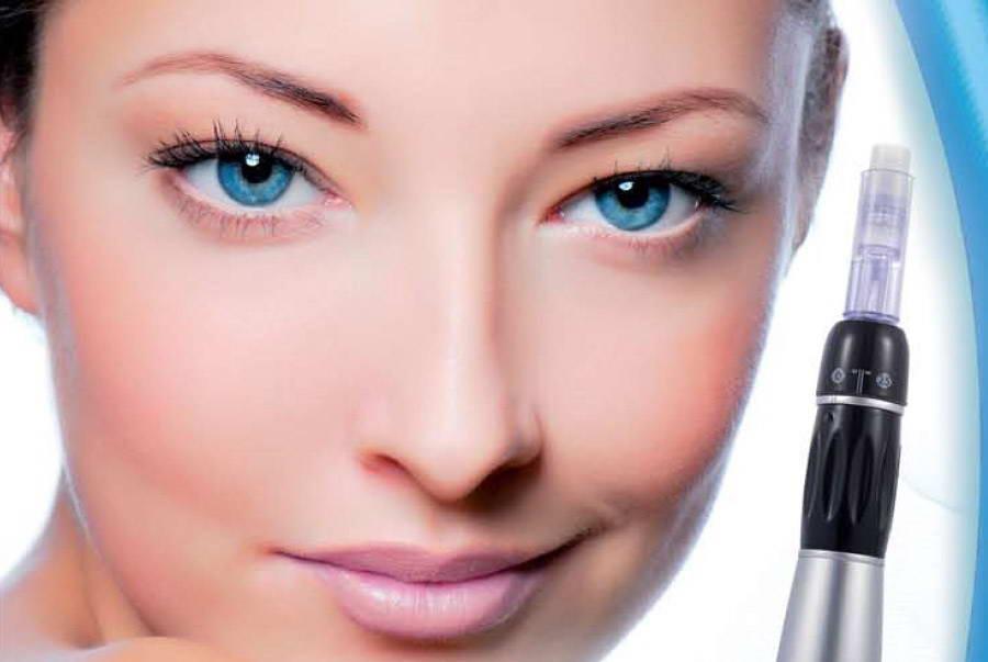 Συσκευή διείσδυσης αντιοξειδωτικών - αντιγηραντικών συστατικών, Dermapen® & Mesopen®, Lab. Newmed 4