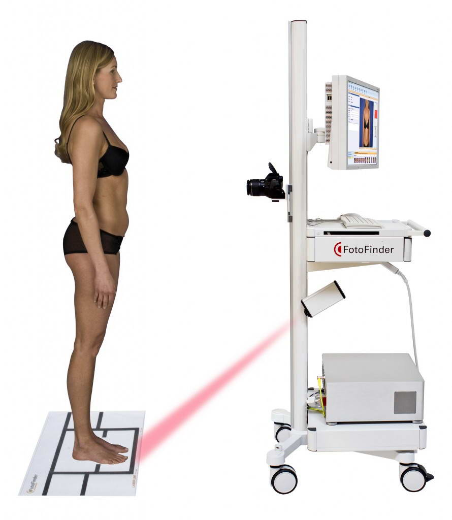 Συσκευή ψηφιακής φωτογράφησης και υπολογιστικής ανάλυσης σπίλων και τριχών, Fotofinder Dermoscope II και Trichoscale 4