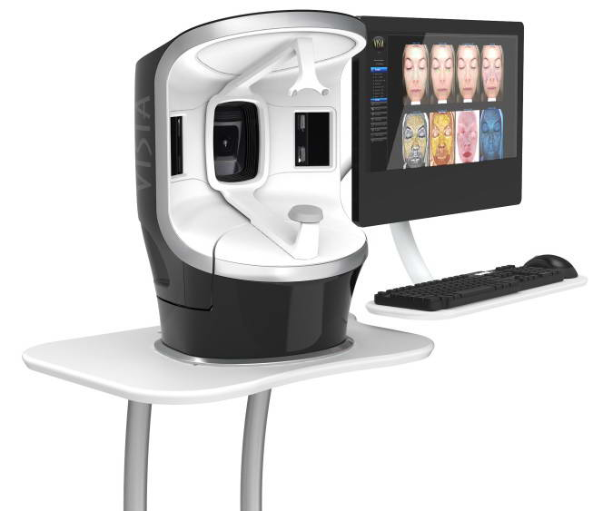 Συσκευή ψηφιακής φωτογράφησης και υπολογιστικής ανάλυσης δέρματος, Visia® 1