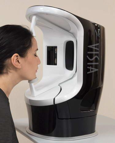 Συσκευή ψηφιακής φωτογράφησης και υπολογιστικής ανάλυσης δέρματος, Visia® 2